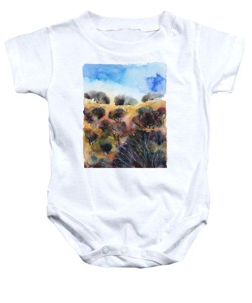 Beyond The Hills Baby Onesie