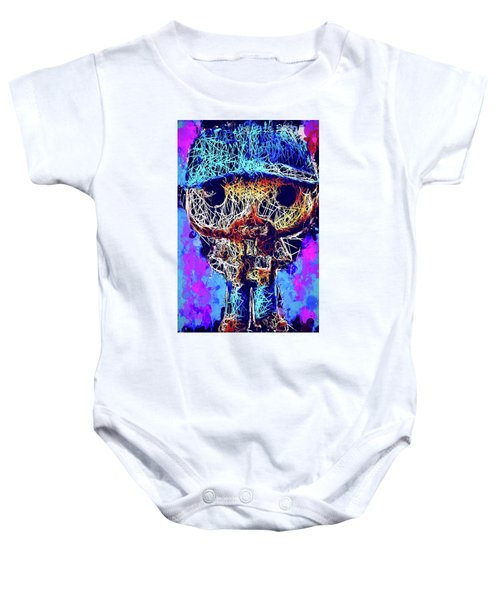 Bobby Supernatural Pop Baby Onesie