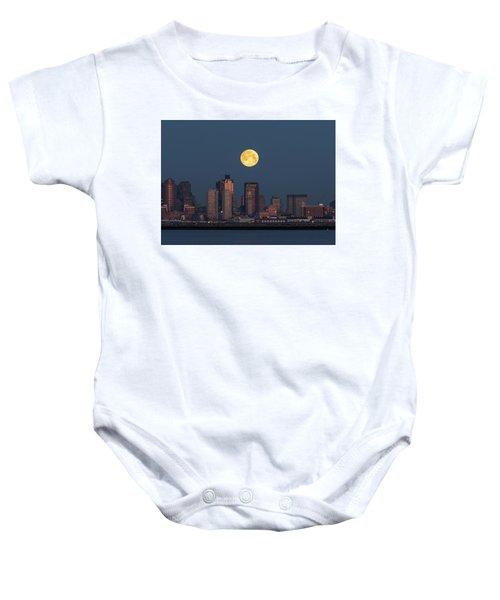 Boston Moonset Baby Onesie
