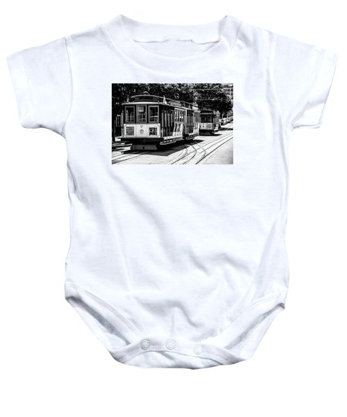 Cable Cars Baby Onesie