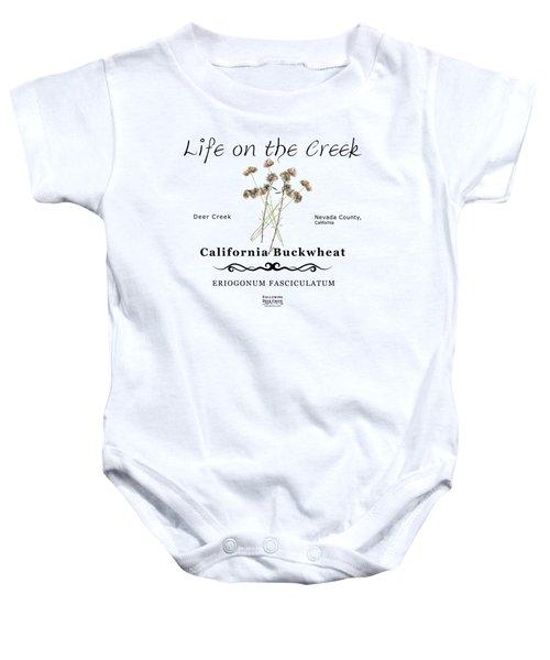 California Buckwheat Baby Onesie