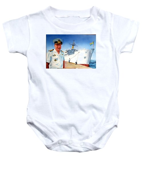 Capt Glen Hallett Baby Onesie