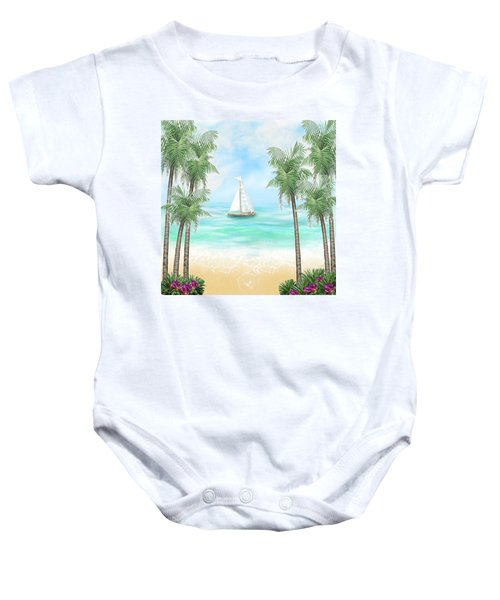 Carribean Bay Baby Onesie