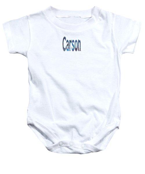 Carson 2 Baby Onesie