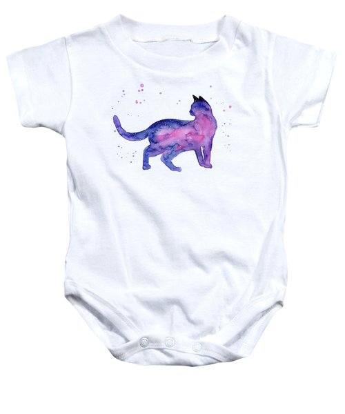 Cat In Space Baby Onesie