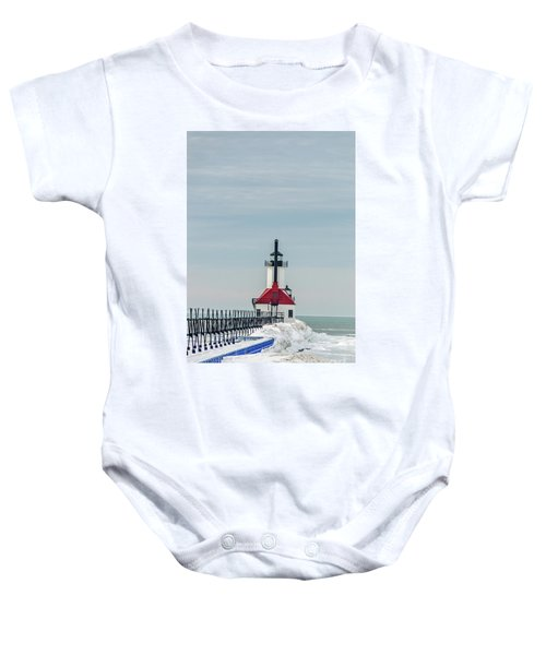 Catwalk And Lighthouses Baby Onesie