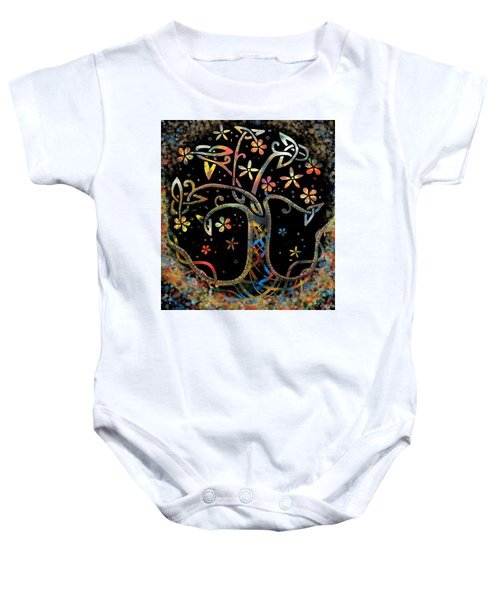Celtic Tree Of Life Baby Onesie