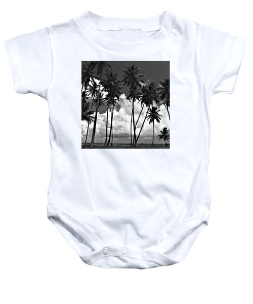 Coconut Trees At Mayaro Baby Onesie