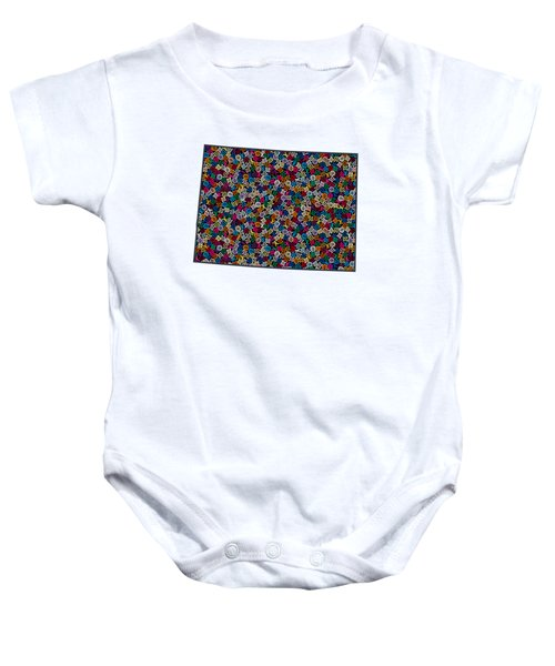 Colorado Map - 1 Baby Onesie