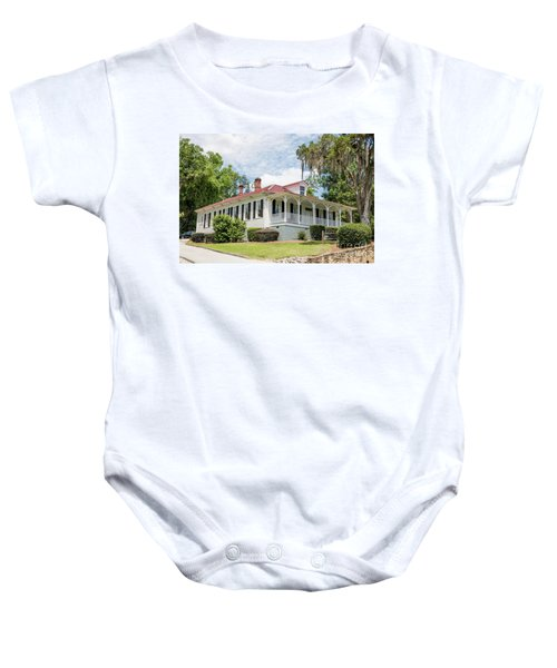 Columbia County Visitors Center - Savannah Rapids Baby Onesie