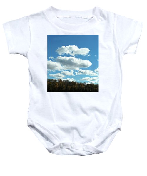 Country Autumn Curves 11 Baby Onesie