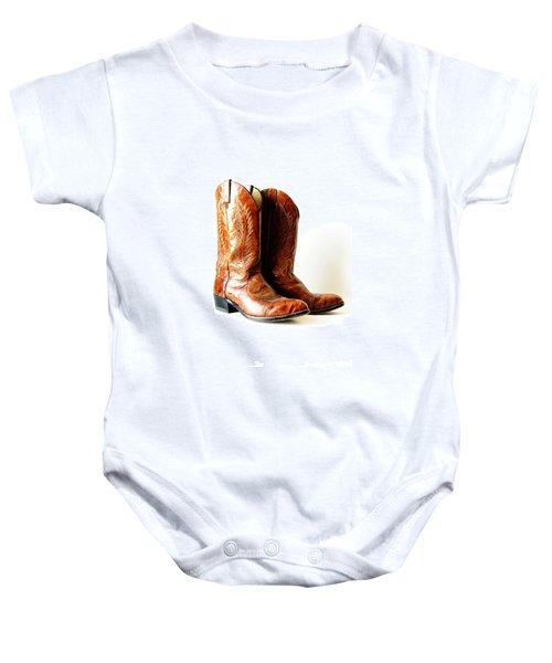 Cowboy Boots Baby Onesie