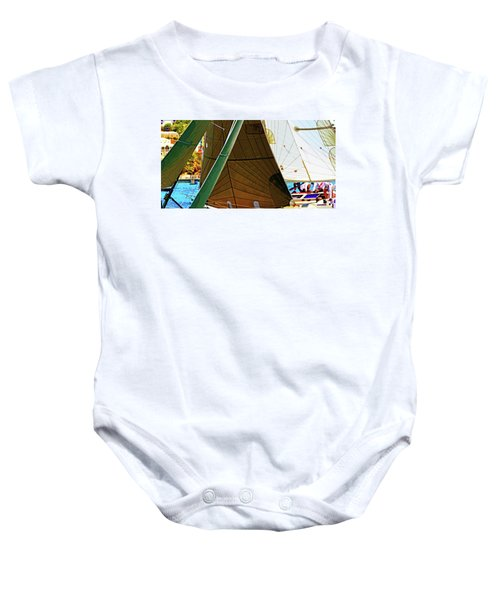 Crossing Sails Baby Onesie