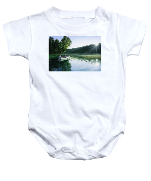 Cruise For Two Baby Onesie