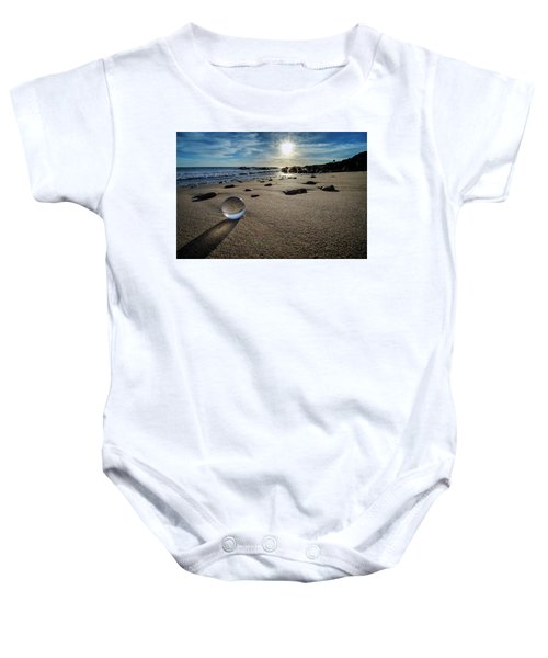 Crystal Ball Sunset Baby Onesie