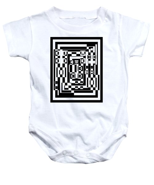 Cubical Cubes  Baby Onesie