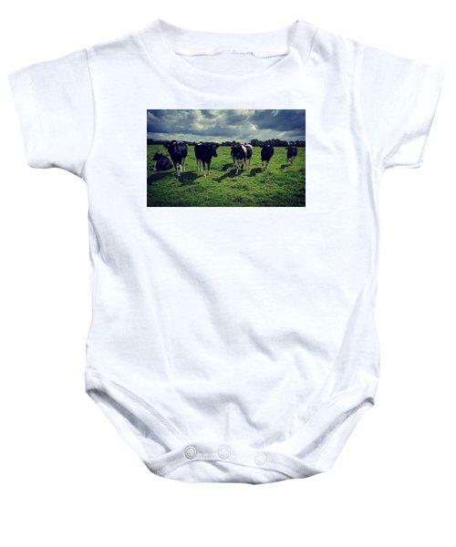 Dairy Heifers Baby Onesie