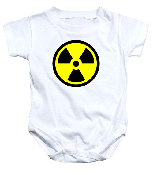 Danger Radiation Sign - Efb256 Baby Onesie