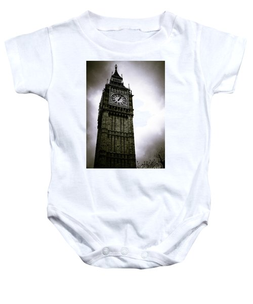 Dark Big Ben Baby Onesie