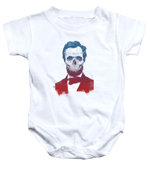 Dead Lincoln Baby Onesie