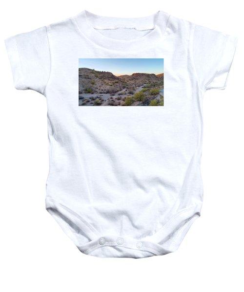Desert Canyon Baby Onesie