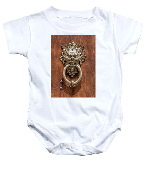 Devil Door Of Venice Baby Onesie