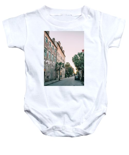 Dipping Light Baby Onesie