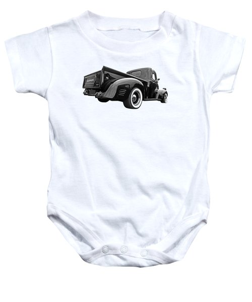 Dodge Truck 1947 Rear View Baby Onesie