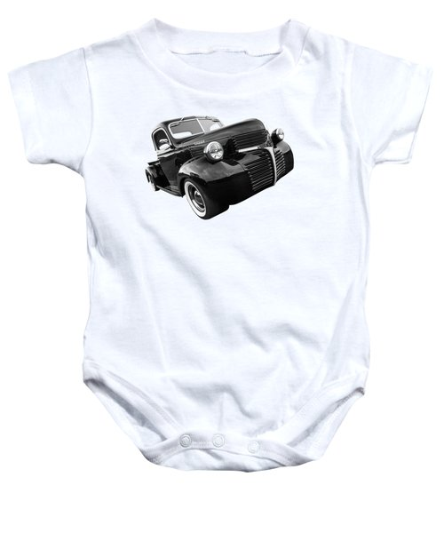 Dodge Truck 1947 Side View Baby Onesie