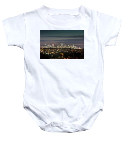 Downtown Dusk Baby Onesie