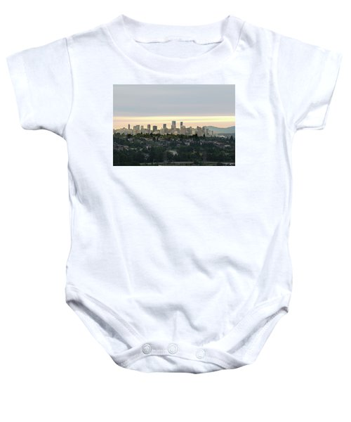 Downtown Sunset Baby Onesie