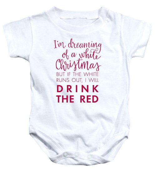 Drink The Red Baby Onesie