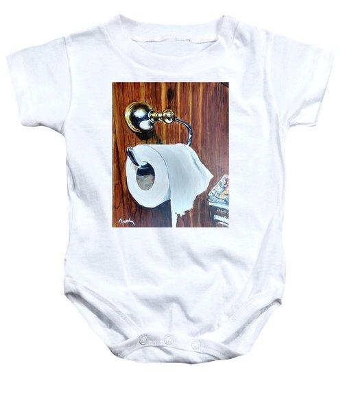 Duchamp's Paperwork Baby Onesie
