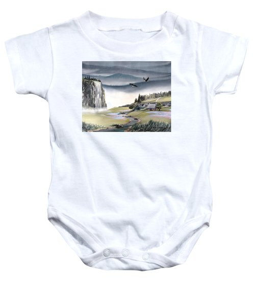 Eagle View Baby Onesie
