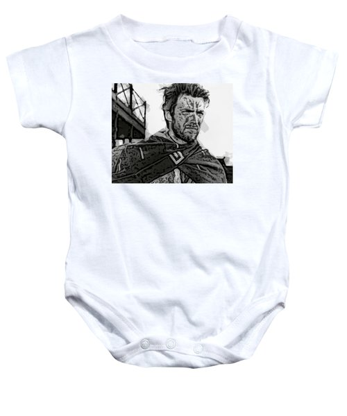 Eastwood's Man With No Name Baby Onesie