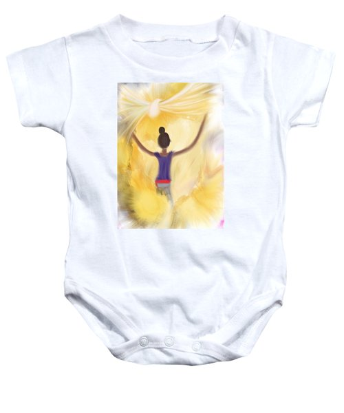 Eternal Presence Baby Onesie