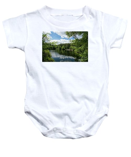Euchee Creek Park - Grovetown Trails Near Augusta Ga 2 Baby Onesie