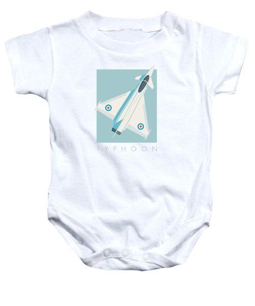 Typhoon Jet Fighter Aircraft - Sky Baby Onesie