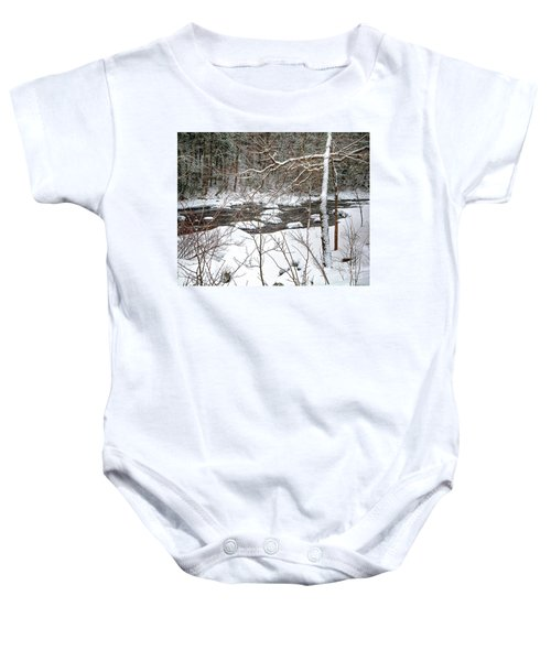 Farmington River - Northern Section Baby Onesie