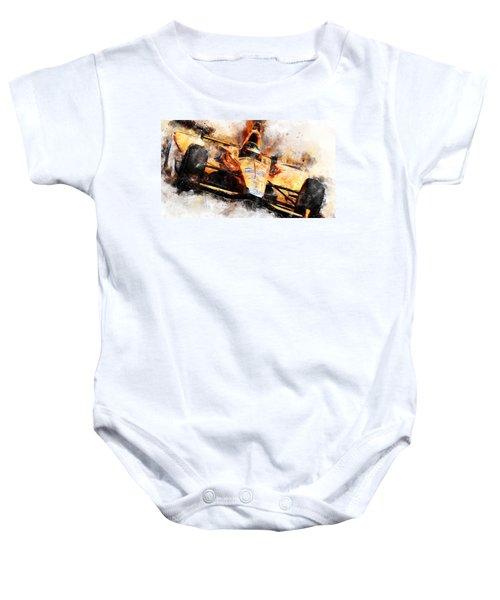 Fernando Alonso, Indy 500 - 04 Baby Onesie