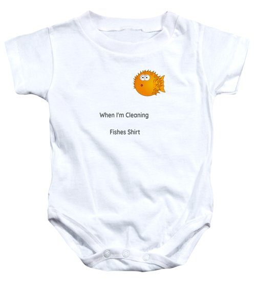 Fish T Shirt Baby Onesie