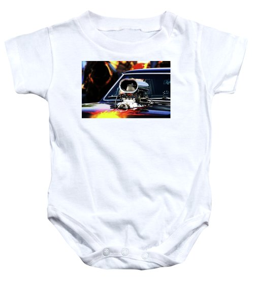 Flames To Go Baby Onesie