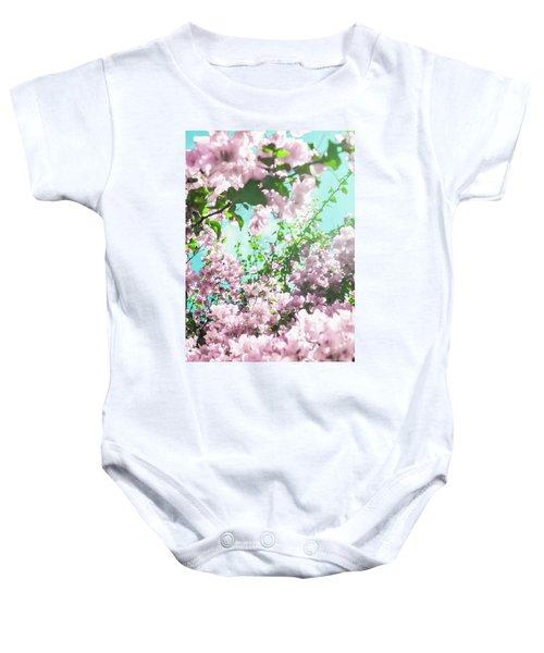 Floral Dreams Iv Baby Onesie