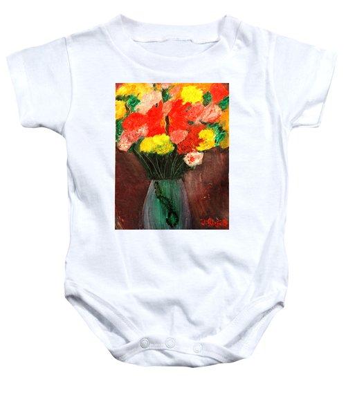 Flowers Still Life Baby Onesie