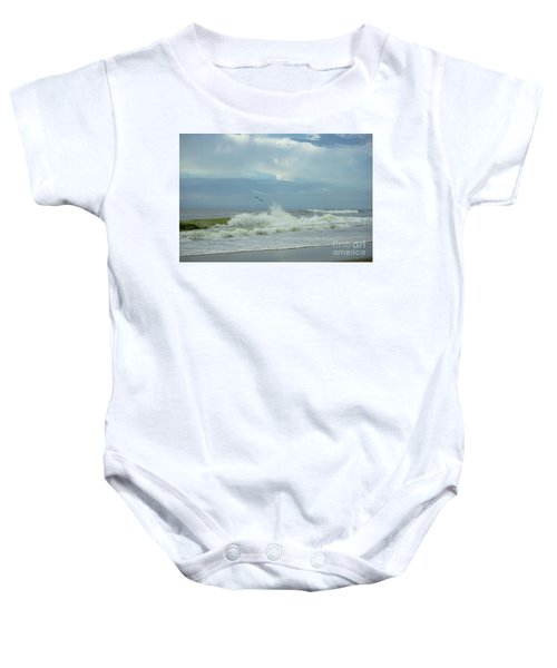 Fly Above The Surf Baby Onesie
