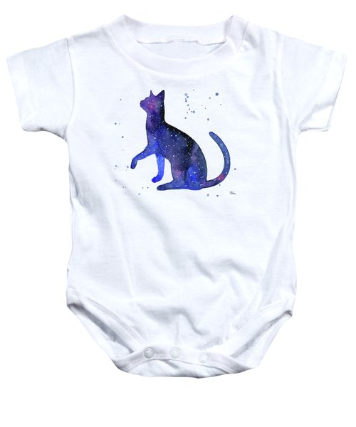 Galaxy Cat Baby Onesie