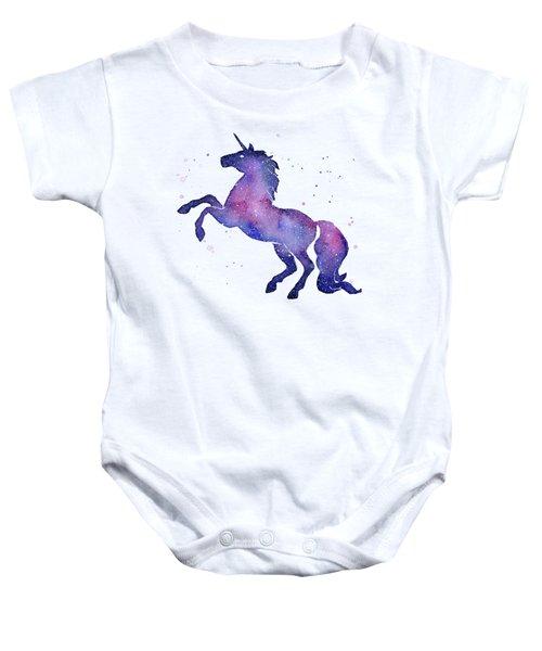 Galaxy Unicorn Baby Onesie