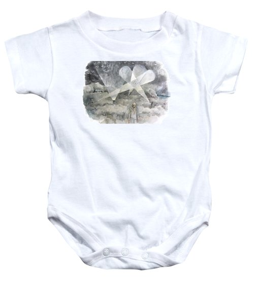 Ghostbusting The New Zealand Storm-petrel Baby Onesie
