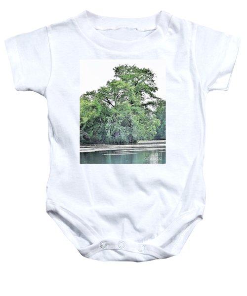 Giant River Tree Baby Onesie