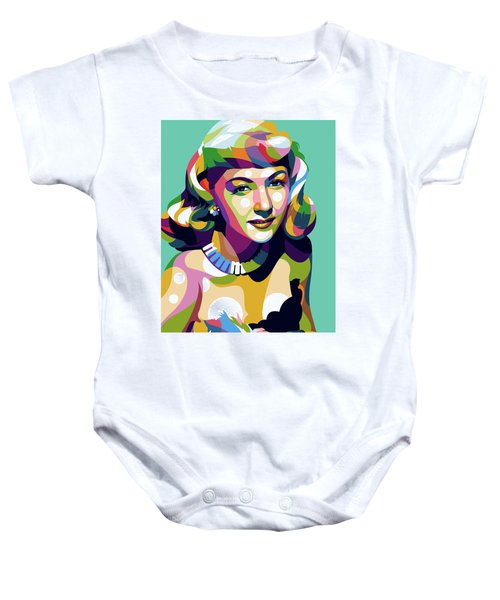 Gloria Graham Baby Onesie